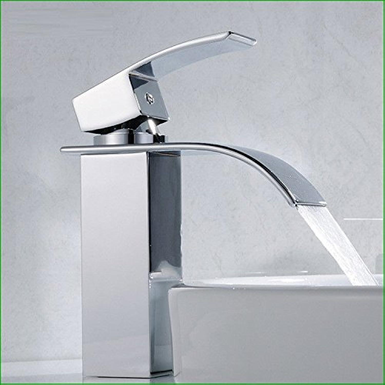 Moderne einfacheKupfer hei und kalt Spülbecken Wasserhhne KüchenarmaturKupfer verchromt Bad Eitelkeit Küche hei und kalt Edelstahl einzigen Wasserhahn Geeignet für alle Badezimmer Küchenbecken