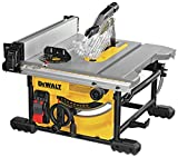 Best Jobsite Table Saws - DEWALT Table Saw for Jobsite, Compact, 8-1/4-Inch (DWE7485) Review