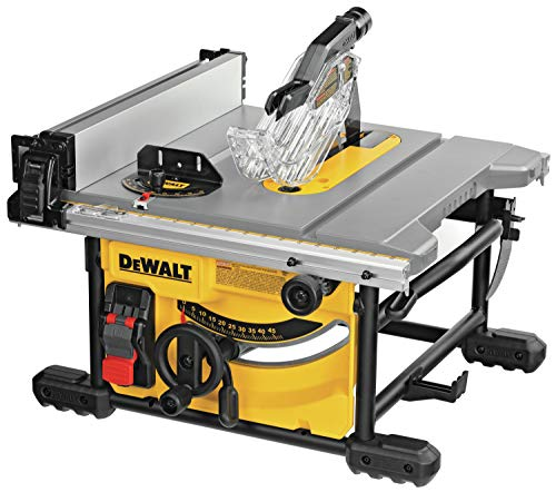 DEWALT Table Saw for Jobsite, Compact,...