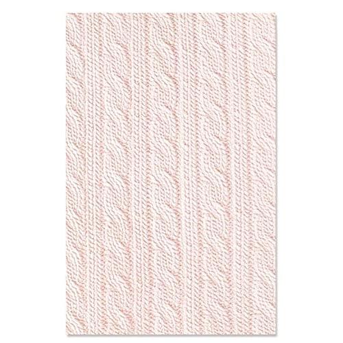 Sizzix Suéter 3-D con Estampado de Impresiones texturizadas por Eileen Hull, 665329, Multicolor, One Size