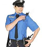 Walkie-Talkie Attrappe Funkgerät für Secret Agent Bodyguard Polizist Security S.W.A.T. Kostüm