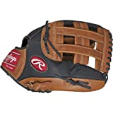 Rawlings Sporting Goods Prodigy Series Baseball Youth Glove, Brown 12'