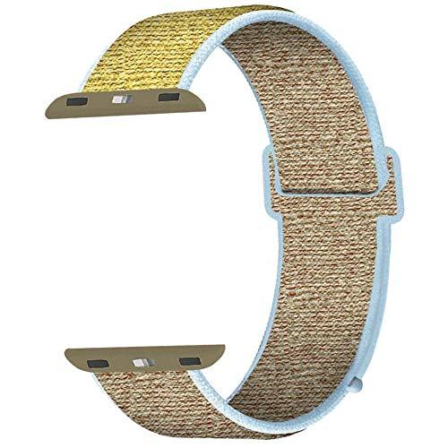 Straper Compatibel met Apple Watch Bandje Band 38mm 40mm 42mm 44mm, Zachte lichtgewicht Vervanging met iWatch Series 5/4/3/2/1