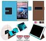 reboon Hülle für Huawei MediaPad X2 Tasche Cover Case Bumper | Testsieger | Braun