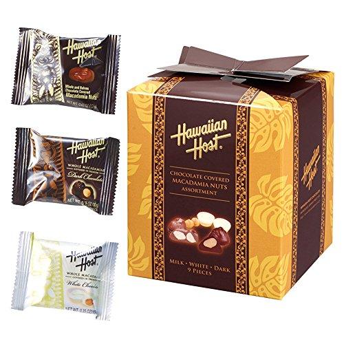 ハワイお土産 ハワイアンホースト Hawaiian Host マカデミアナッツ チョコレートミックス