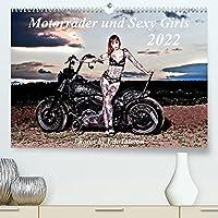 Motorraeder und Sexy Girls (Premium, hochwertiger DIN A2 Wandkalender 2022, Kunstdruck in Hochglanz): Stilvoll gestaltete Bilder mit schweren Maschinen und heisse Girls (Monatskalender, 14 Seiten )