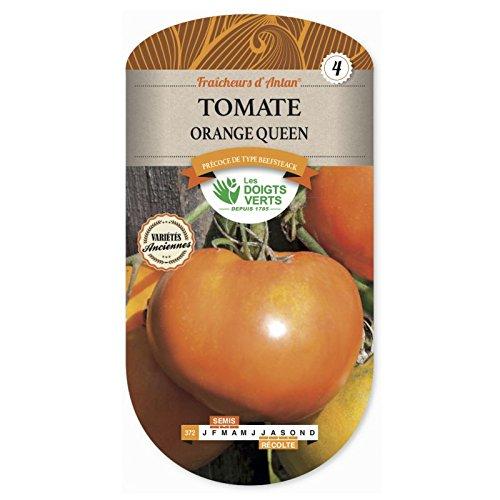 Les doigts verts Semence Tomate Orange Queen Fraîcheur d'Antan