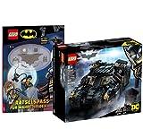 Collectix Lego DC Comics Super Heroes Batmobile Tumbler: Duell con Scarecrow 76239 + Ensayos para verdaderos héroes (cubierta blanda)