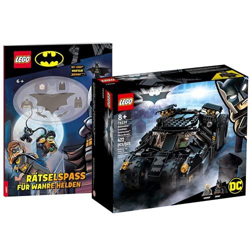 Collectix Lego DC Comics Super Heroes – Set di tumbler: Duell con Scarecrow 76239 + divertimento per veri eroi (copertina morbida)