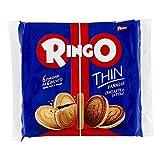 Pavesi Biscotti Ringo Thin Vaniglia, Snack per Merenda o Pausa Studio, Senza Olio di Palma, Confezione da 234 g