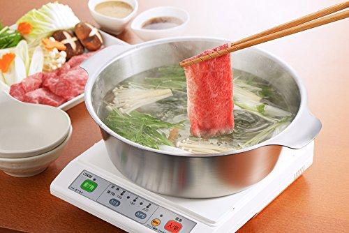 ヨシカワ日本製寄せ鍋しゃぶ鍋26cmステンレスシルバー贅(zei)SJ1678