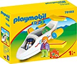 Playmobil - Avion avec Pilote et Vacancière - 70185
