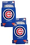 Official Major League Baseball Fan Shop Authentic 2-Pack MLB Insulated 12 Oz Can Cooler (Chicago Cubs)