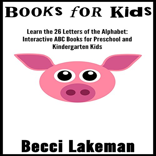 Learn the 26 Letters of the Alphabet audiobook cover art