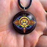 Orgone Chakra Healing Pendant | Tesla | EMF Protection | Orgonite Pendant | Third Eye 6th Chakra | Ajna