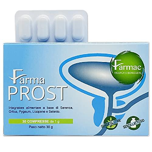 SERENOA REPENS PROSTATA per il benessere e funzionalità della prostata e delle vie urinarie| 30 compresse con Saw Palmetto, Ortica, Licopene e Pygeum| Prostata integratore| Integratore per la prostata
