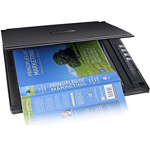 Plustek OpticSilm 2680h - High Speed Flatbed Scanner, 3sec Fast scan Speeds. Compact Design for Home and Home Office. Support Twain and for Windows only