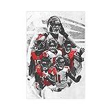 American Football Calvin Ridley Austin Hooper Mohamed Sanu