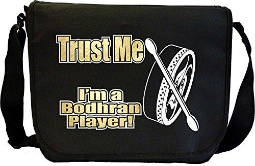 Musicalitee Bodhran Trust Me - Sheet Music Messenger TRIO Document Bag Musik Notentasche