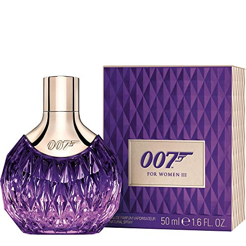 James Bond 007 for Women – Eau de Parfum Vrouwen Natural Spray III – Oosterse welruikende damesgeur voor adembenemend sensuele optredens – per stuk verpakt 50 ml multicolor