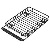 Portaequipajes de Metal RC, portaequipajes de Coche RC Resistente al Desgaste, Rendimiento Estable para Coches de Juguete Accesorio de orugas RC Modelo de Coche RC Axial SCX10 III ‑4 Coche