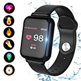 ZIYOR Fitness Tracker, Activity Tracker Watch with Heart Rate Monitor 8 Sports Mode