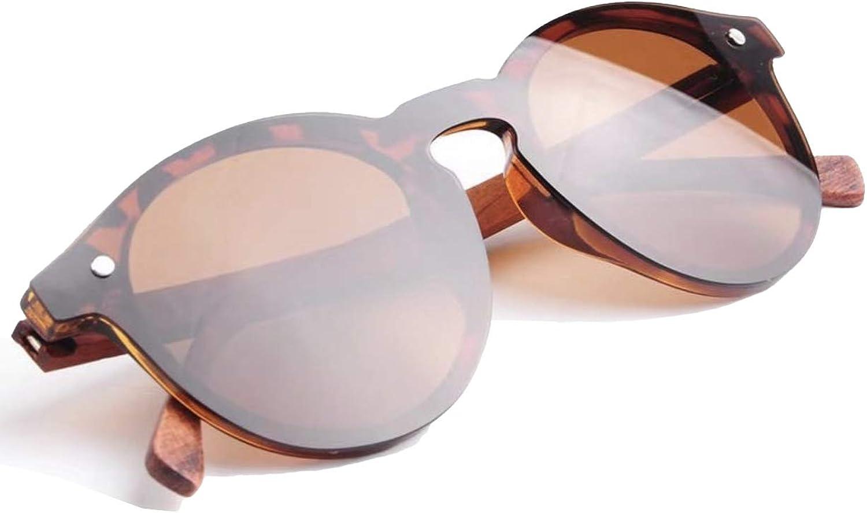 Wildwood Women's Wooden Cat Eye Cote d'Azur Polarized Sunglasses (Brown)
