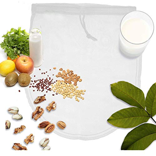 OldPAPA Nut Milk Bag, Bolsa para Hacer leches Vegetales, iNeibo, Bolsa para...