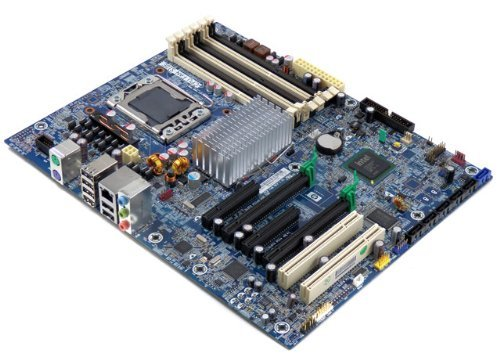 HP 586968-001 Motherboard Z400 Workstation Motherboard Intel X58 (Renewed)