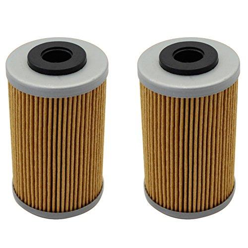 Cyleto Ölfilter für KTM 525 EXC/EXC-G RACING 525 2003-2007 (2 Stück)
