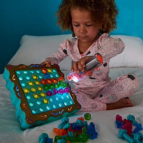 Educational Insights Design & Drill SparkleWorks - Light Up Drill Toy, STEM Learning with Toy Drill
