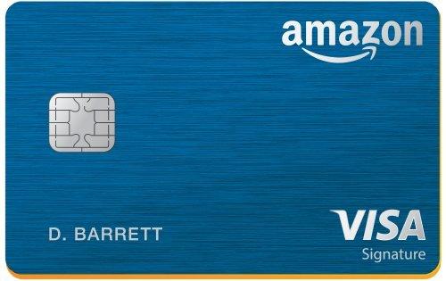of introductory bonus credit cards Amazon Rewards Visa Signature Card