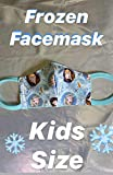 Frozen Face mask - Face Cover -kids size - washable and reusable with filter pocket