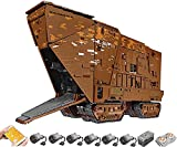 Myste Juego de construcción con control remoto de Sandcrawler, Mould King 21009, 13168, bloques de construcción 2,4 G APP/RC, bloques de construcción con 6 motores, compatible con Lego Star Wars 75059