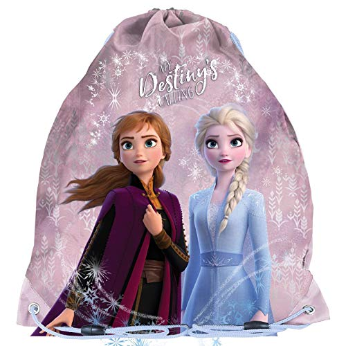 PASO KINDER TURNBEUTEL/SPORTBEUTEL 36x32 CM FROZEN 2 COLLECTION