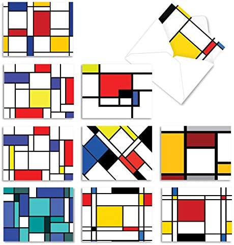 10 All Occasion 'Cubism' Thank You...