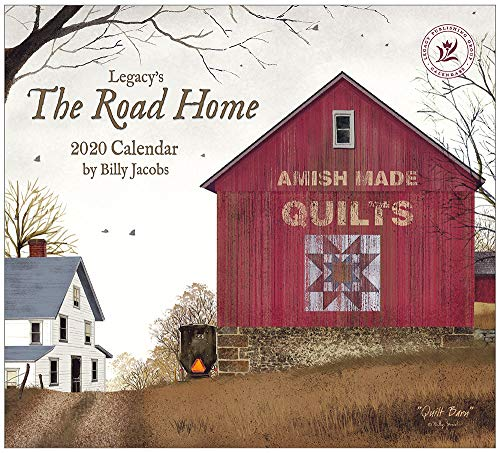 Legacy Publishing Group 2020 Wall Calendar, The Road Home