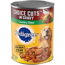 PEDIGREE Choice Cuts in Gravy Regular High Protein Adult Canned Dog Food
