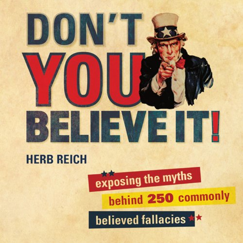 Don't You Believe It! audiobook cover art