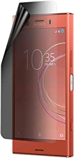 Celicious Privacy Lite 2-Way Anti-Glare Anti-Spy Filter Screen Protector Film Compatible with Sony Xperia XZ1 Compact