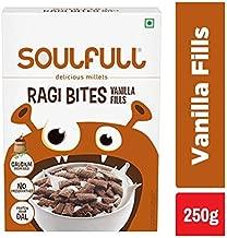 Soulfull Ragi Bites, Vanilla Fills- No Maida, High Calcium, 250g