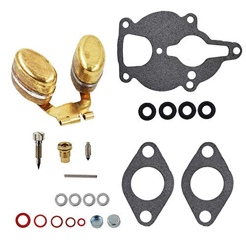 Carburetor Rebuild Kit For Zenith Wisconsin Engine VH4D VHD TJD Replaces LQ39 With New Float Carb Rebuild Set Replacement