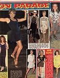 Rolanda Watts Jamie Lee Curtis original clipping magazine photo 1page 9x11 #Z5573