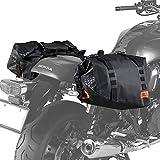 DOPPELGANGER(ドッペルギャンガー) ターポリンサイドバッグ 【キャンプツーリングに必要な防水・大容量】 40L バイク用 ターポリンバッグシリーズ DBT393-BK