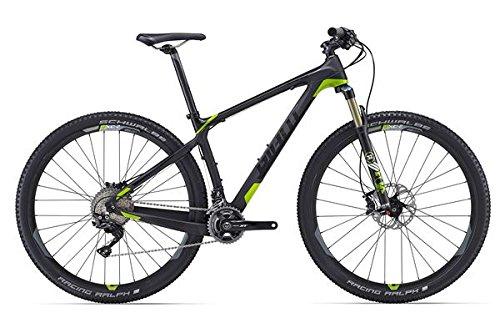 Giant XTC Advanced 29er 1 - Bicicleta de montaña (29 pulgadas), color negro y verde