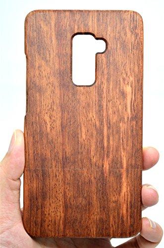 RoseFlower® Huawei Mate S Funda de Madera - Palo de Rosa - Natural Hecha a Mano de Bambú/Madera Carcasa Case Cover con Gratis Protector de Pantalla para tu Smartphone