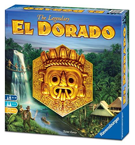 Ravensburger El Dorado, Juego de mesa, Light strategy, 2-4 Jugadores, Edad recomendada...