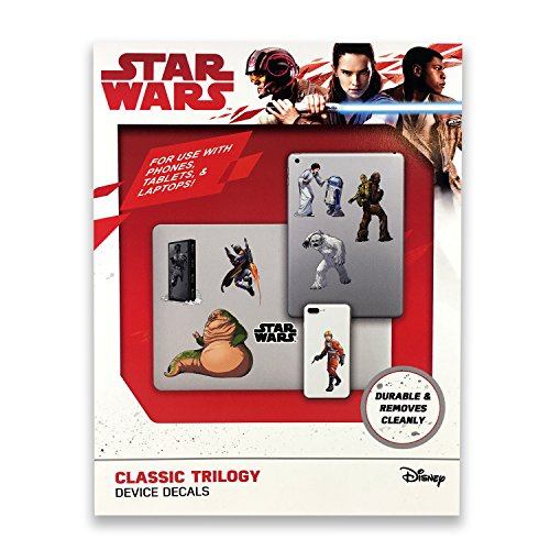 FanWraps Star Wars Classic Trilogy Device Decals, Multicolor