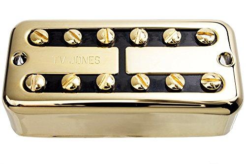 TV Jones TV Classic Guitar Bridge Pickup, Gold, Universal Mount
