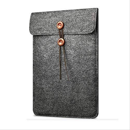 BJBNDB Filzhülle 11 12 13 15,4 Zoll Slim Laptop Tasche Hülle Für Apple Xiaomi MacBook Air Pro Retina 13,3 15,6 Notebook Hülle Für Xiaomi Air 15,6 Schwarz